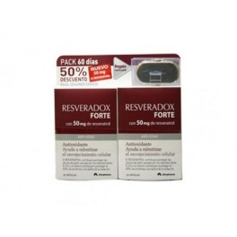 Resveradox forte 50mg pack 60cap. + capsulero 045442