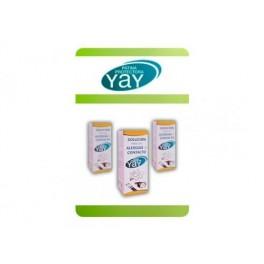 Yay solución para las alergias de contacto.