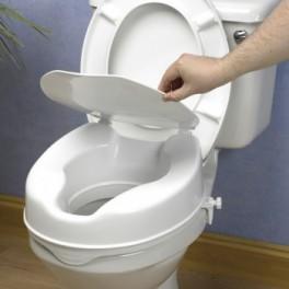 Elevador WC de 10cm con tapa   10040
