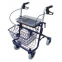 Andador 3 ruedas con bandeja